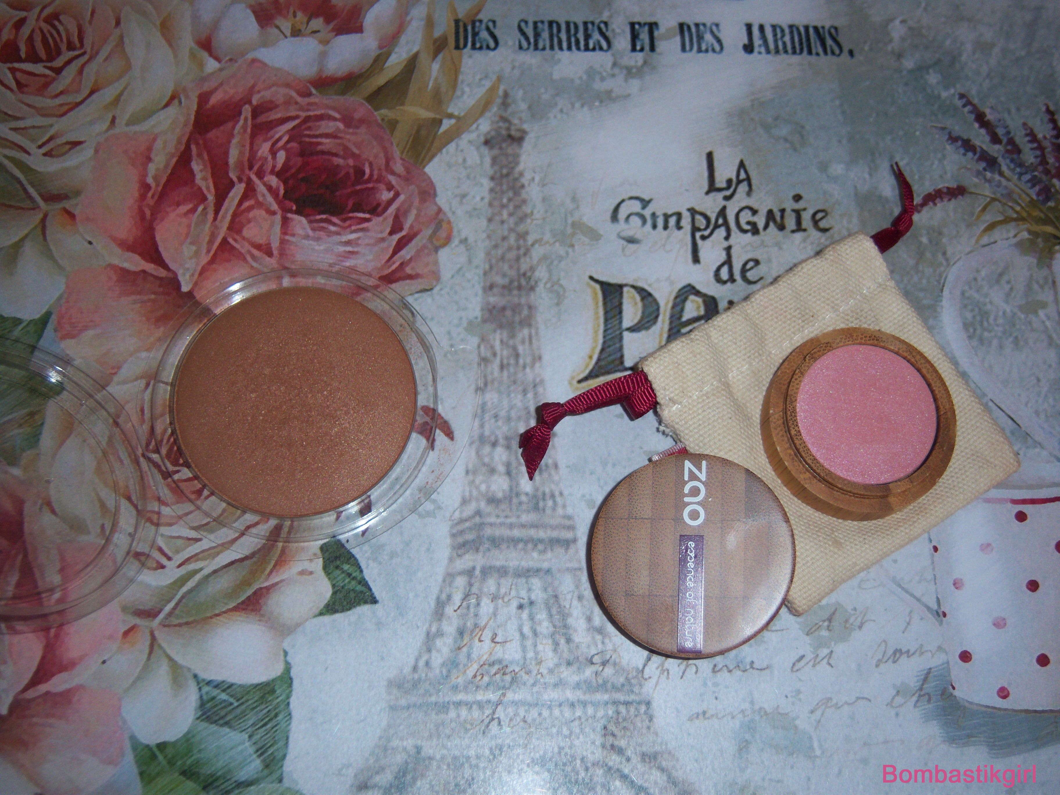 Du nouveau dans le maquillage :  Zao make up