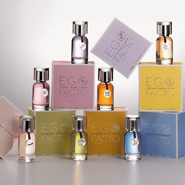 Les inoubliables parfums Ego Facto