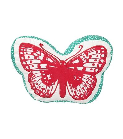 coussin papillon Hema