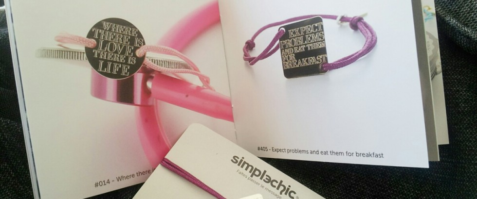 Simple Chic, ou comment s'exprimer librement avec un bracelet