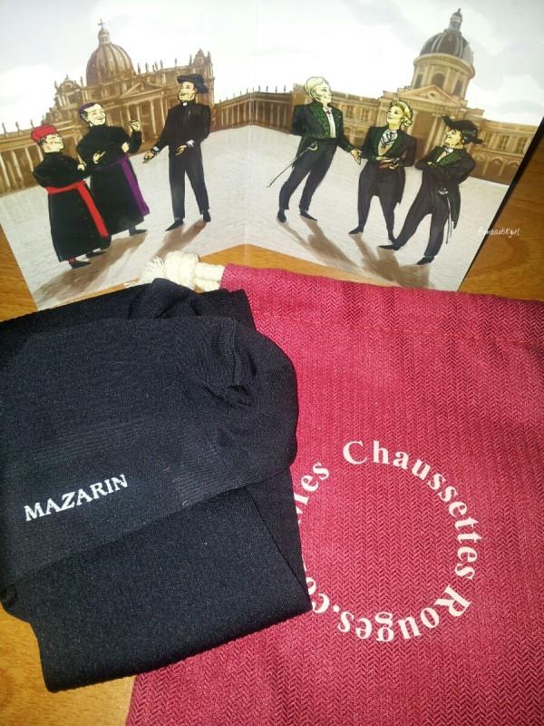 Mes Chaussettes Rouges, le luxe à portée de…pied…