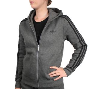 veste femme adidas grise