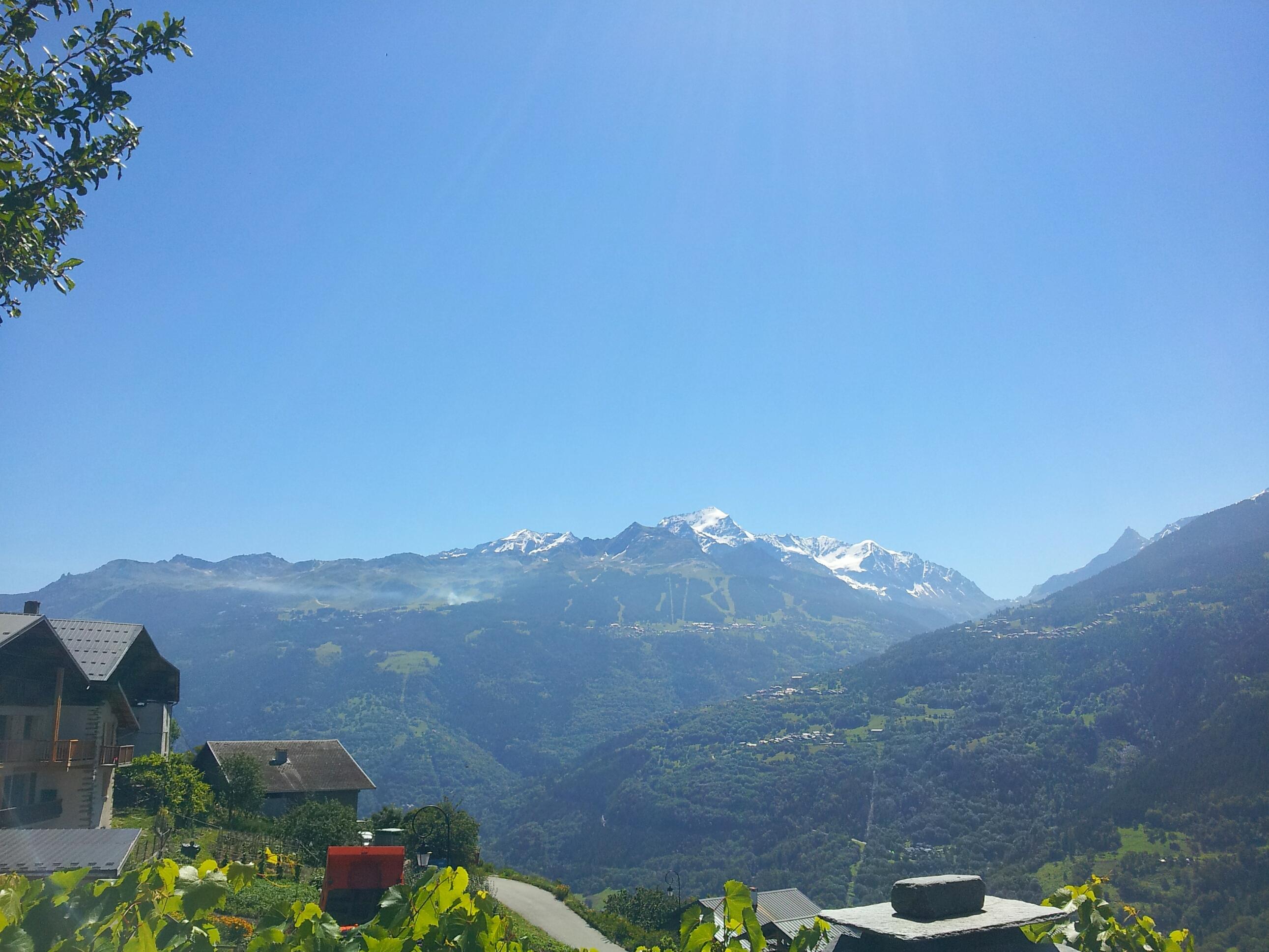 la montagne en Savoie