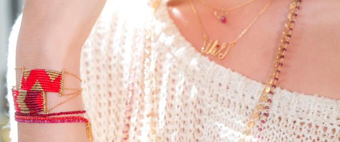 Des créations très délicates et modernes, les bijoux Caroline Najman