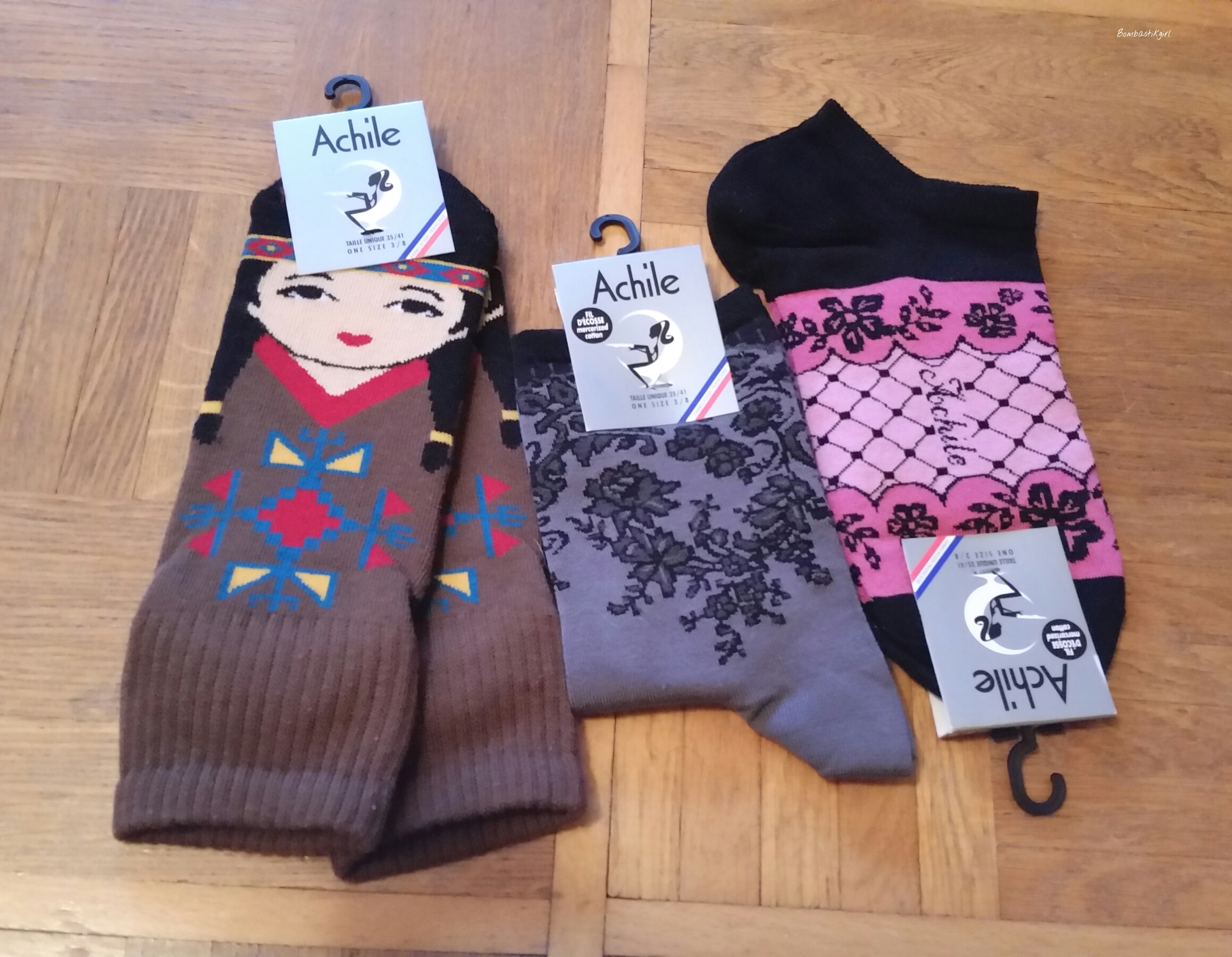 Achile, des chaussettes fantaisie  de qualité pour égayer la vie + Concours