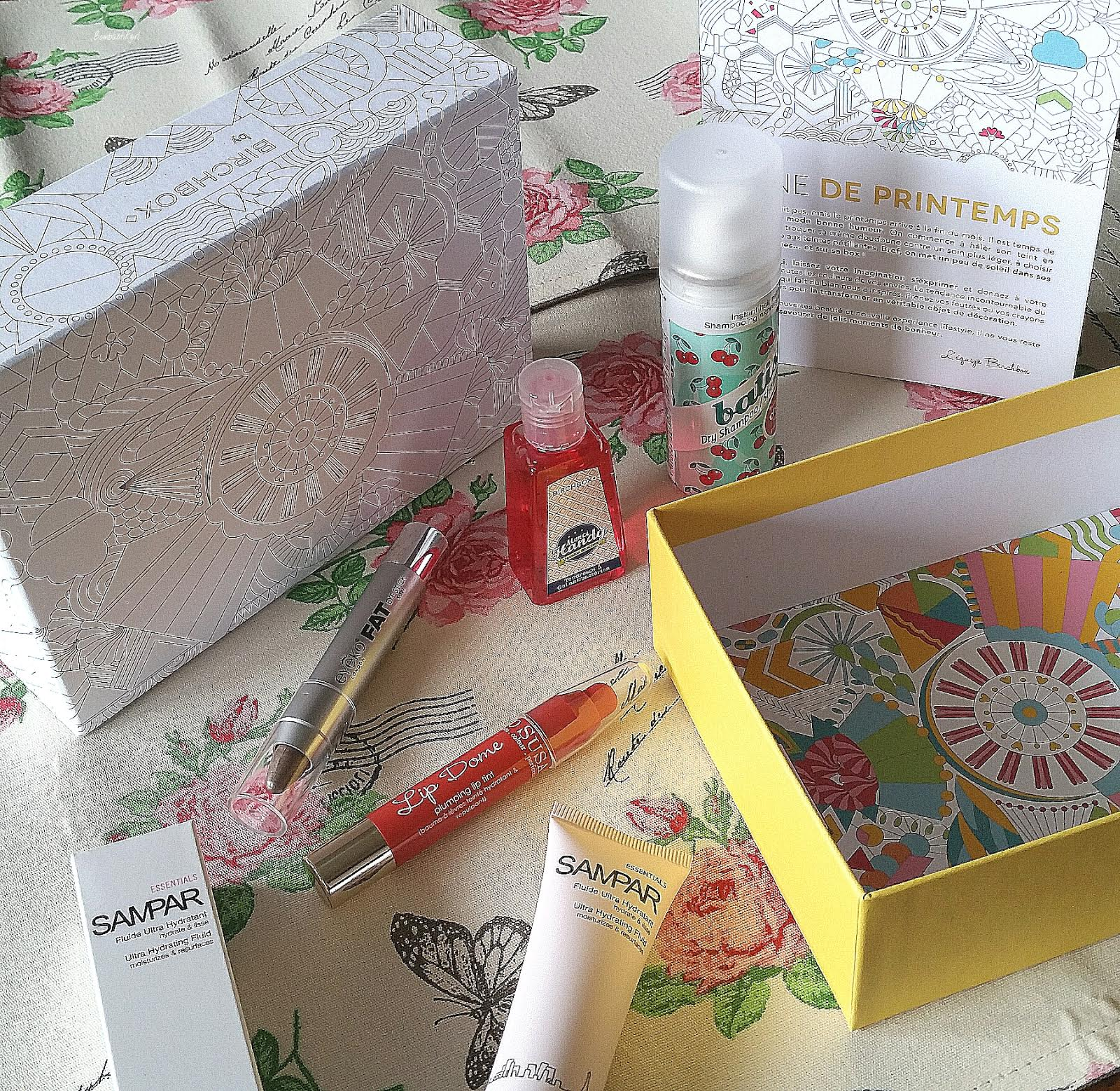 L'édition « Mine de Printemps » de Birchbox, j'adore !