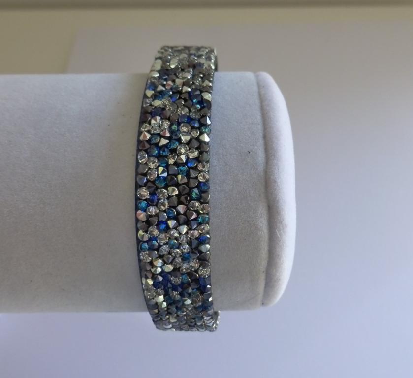 Bracelet Swarovski cristal rock