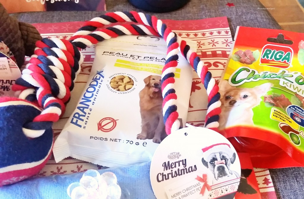 boîte cadeau pour chiens