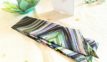 Emotis,textile innovant, twilly, accessoire femme - Bombastikgirl.com, blog mode femme