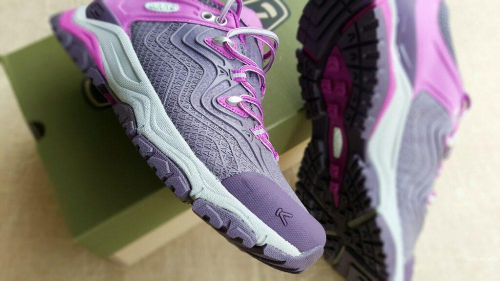 Mes Aphlex Waterproof, mes baskets de marche Keen