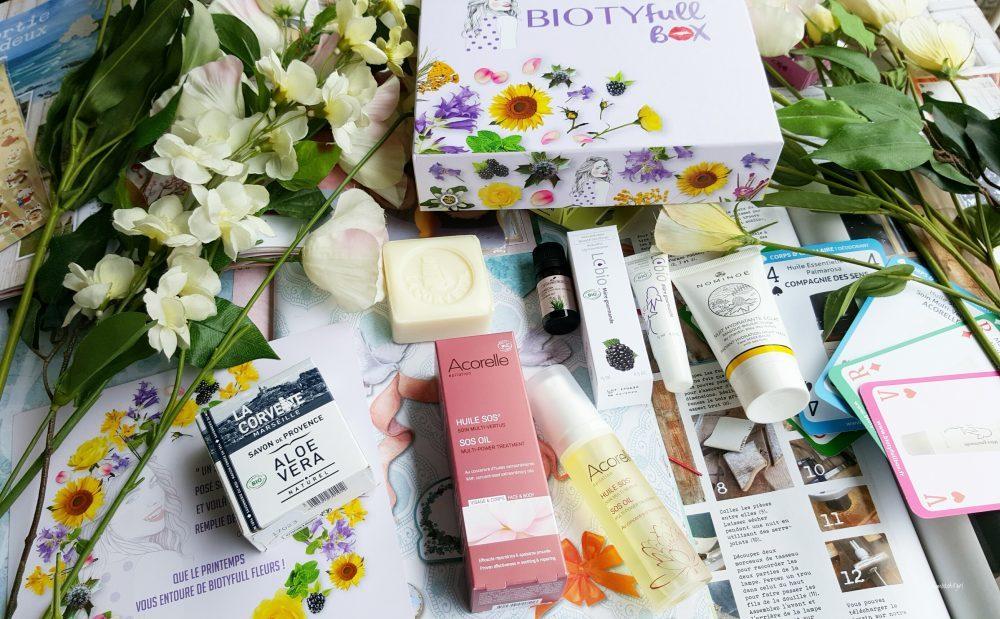 Biotyfull Box de mars : La Florale