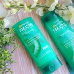Le duo pour les cheveux hydra Pure Coconut Water Fructis de Garnier