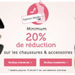 Bon plan Fashion Weeks : minimum 20% de réduction chez Bon Prix