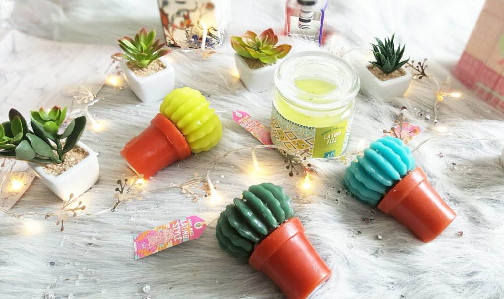bougies exotiques