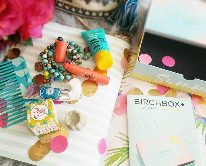 La toute mignonne Birchbox Summer Vibes