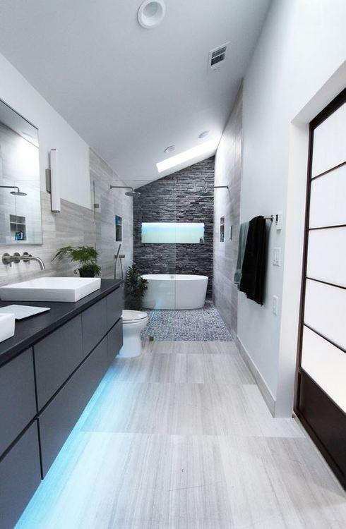 salle de bain blanc et rouge best exemple de salle de bain moderne ...