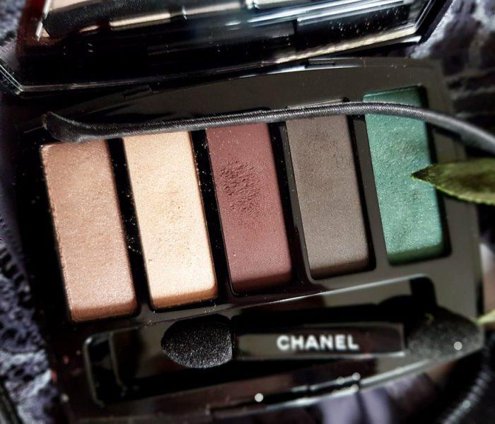 Trait de Caractère, la palette d'ombres Chanel faciles à porter