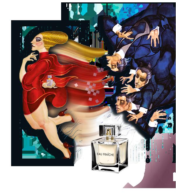 """Amoureuse de """"Eisenberg"""", enfin ses parfums…"""