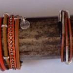 Les bijoux en cuir Oliv.b