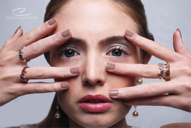 Les bijoux de Virginie Carpentier, des lignes élégantes, raffinées tournées vers l'avenir