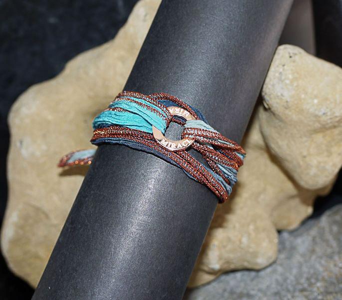 Bracelet soie