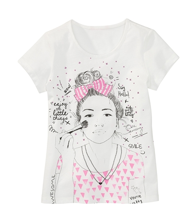 tee shirt fille Hema