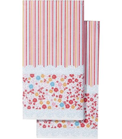 serviettes-en-papier fleurs Hema
