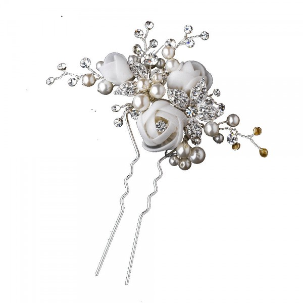 epingle-perle-fleur-organza