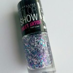 "Le top coat pailleté Colorshow Gemey Maybelline ""Street Artist"""