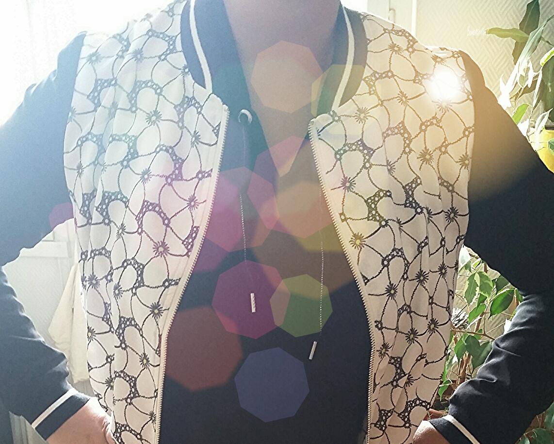Ma veste entre deux saisons Color Block
