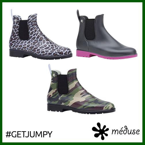 Méduse®, pas que des sandales ! + jeu-concours #GetJumpy