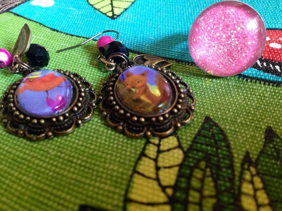 Lya et ses bijoux cabochons