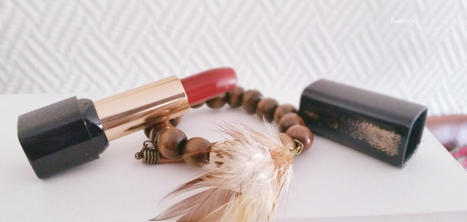 Le rouge-à-lèvres idéal est le ROUGE 1 Natura Brasil