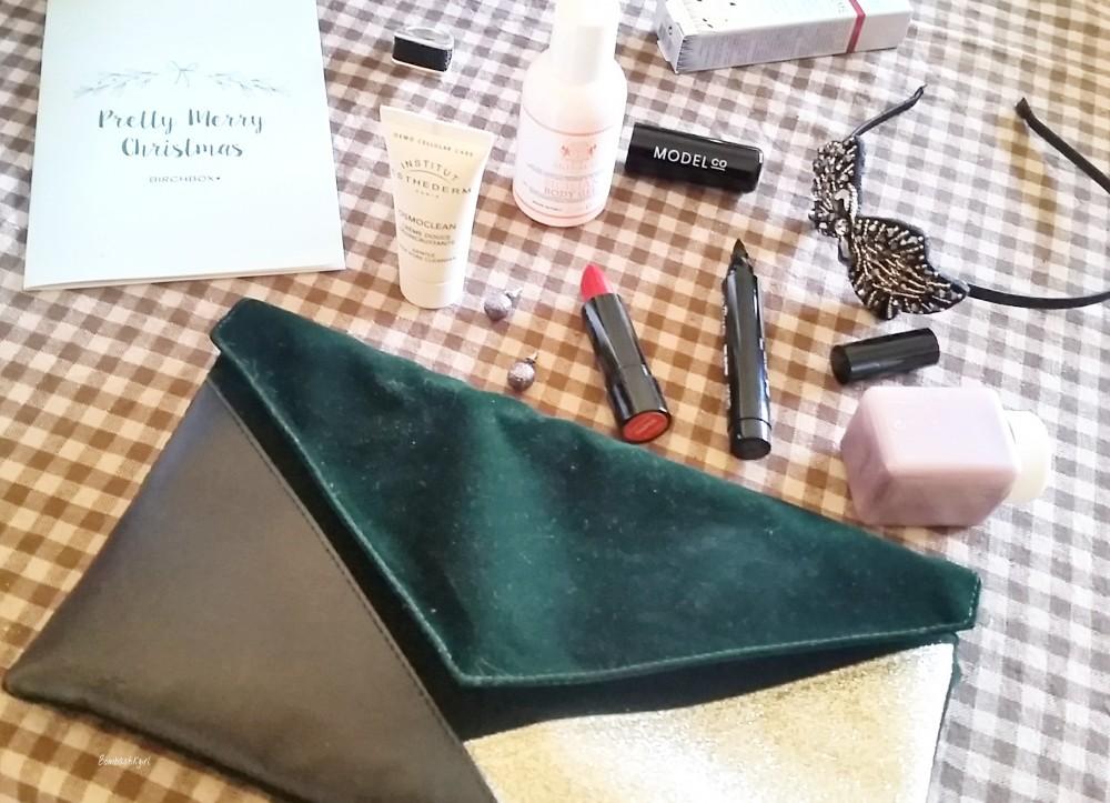 Les jolis cadeaux de la Birchbox de décembre