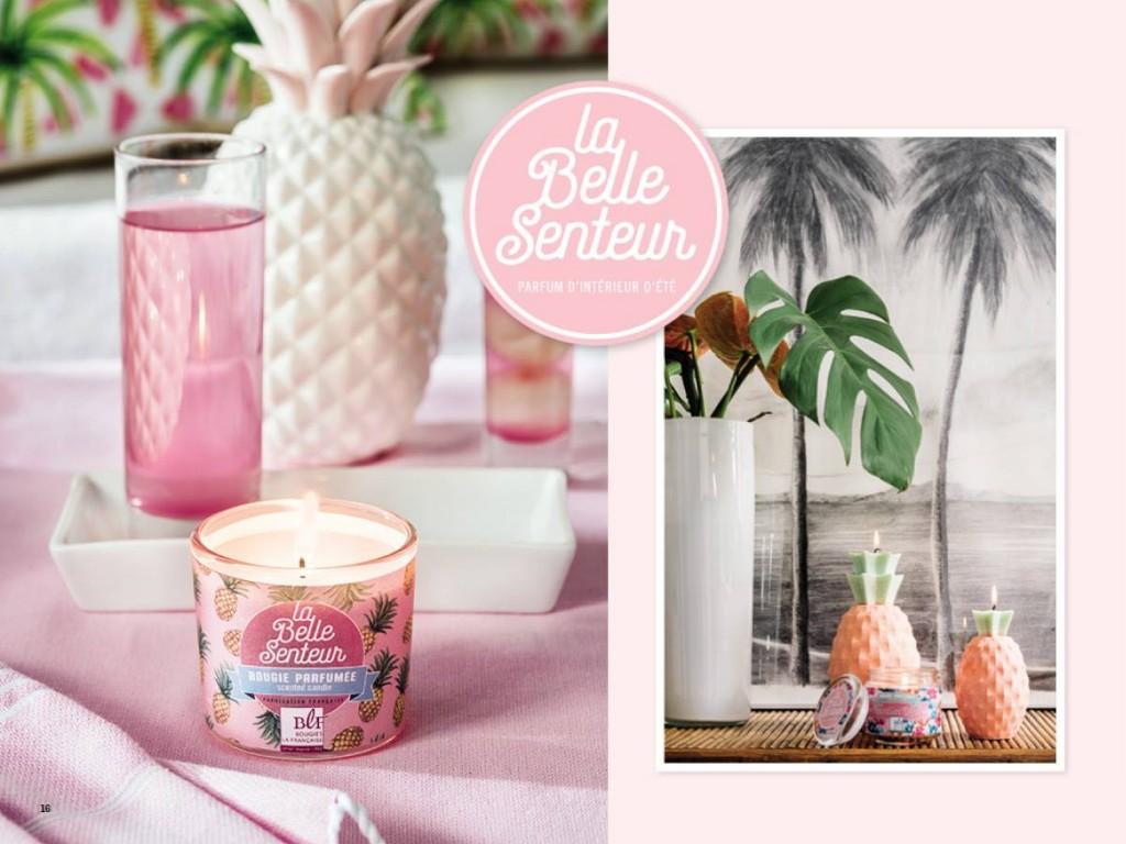 collection printemps été Bougies La Française