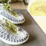 Ma paire de Keen aux pieds et la vie me sourit