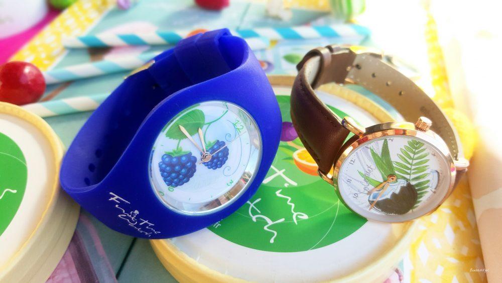 Montres sympa à petits prix : FruitTime Watch