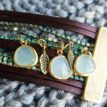 L'atelier de création bijoux de Lilybirds : la manchette de mes rêves