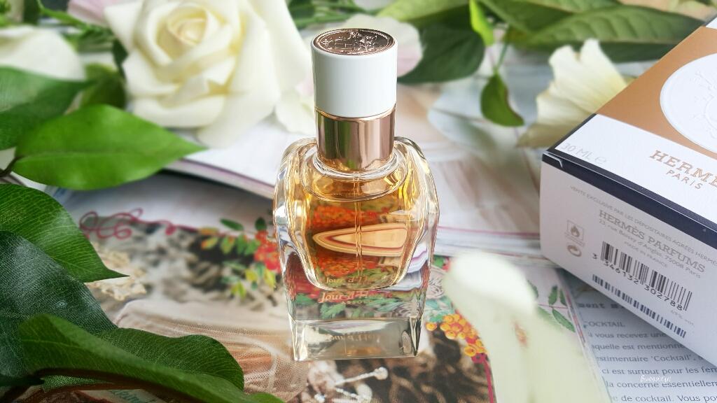 aef785d757 Jour d'Hermès Absolu, parfum fleuri, présentation, test et avis