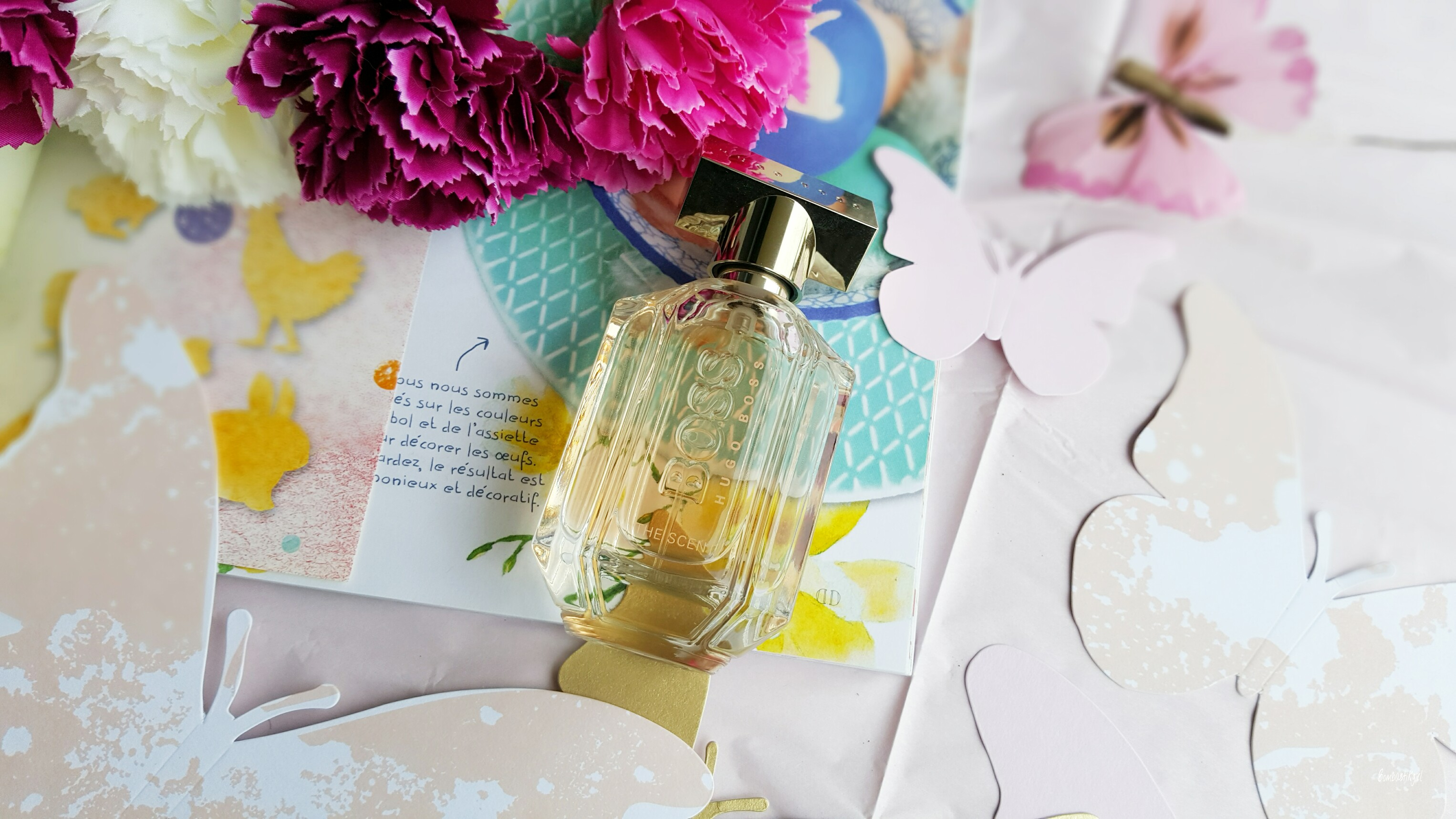 Parfum fruité/fleuri femme