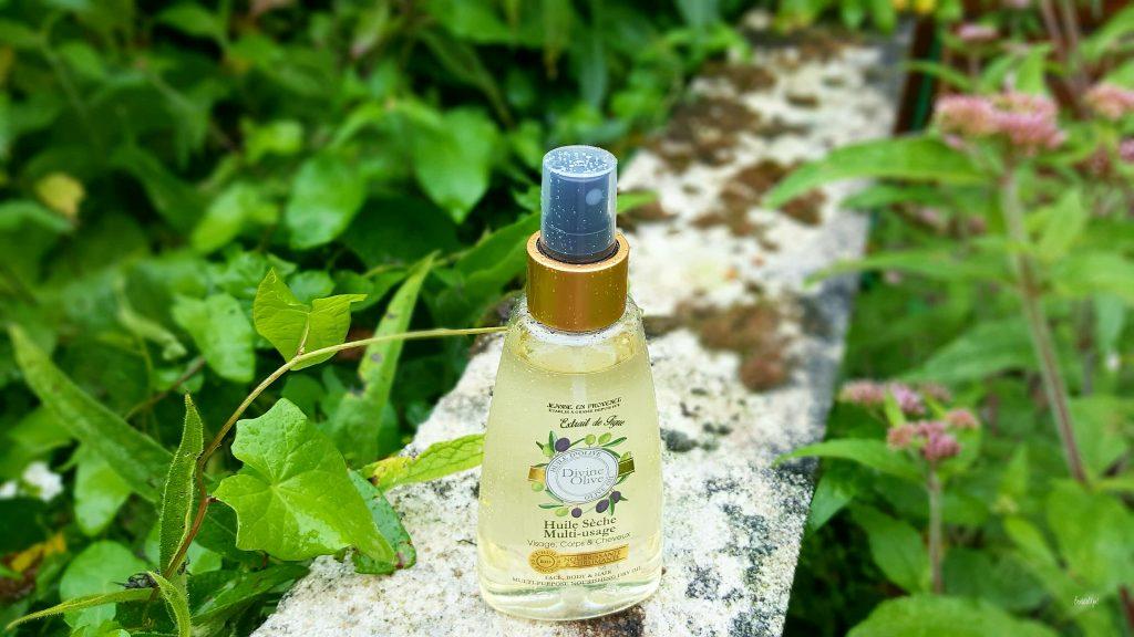 huile sèche Jeanne en Provence