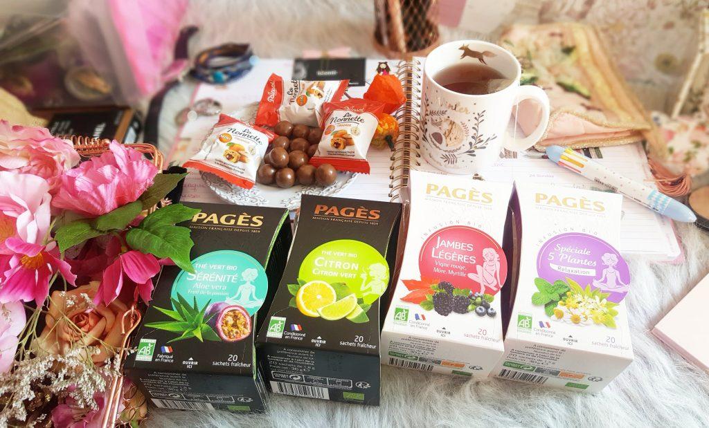 thés et infusions