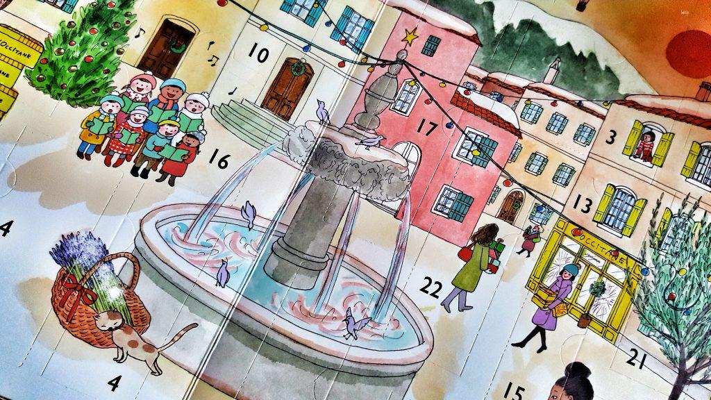 calendrier de l'avent L'Occitane