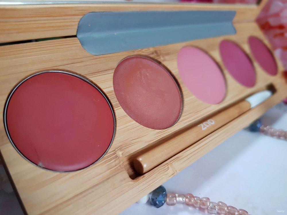 palette de rouges à lèvres