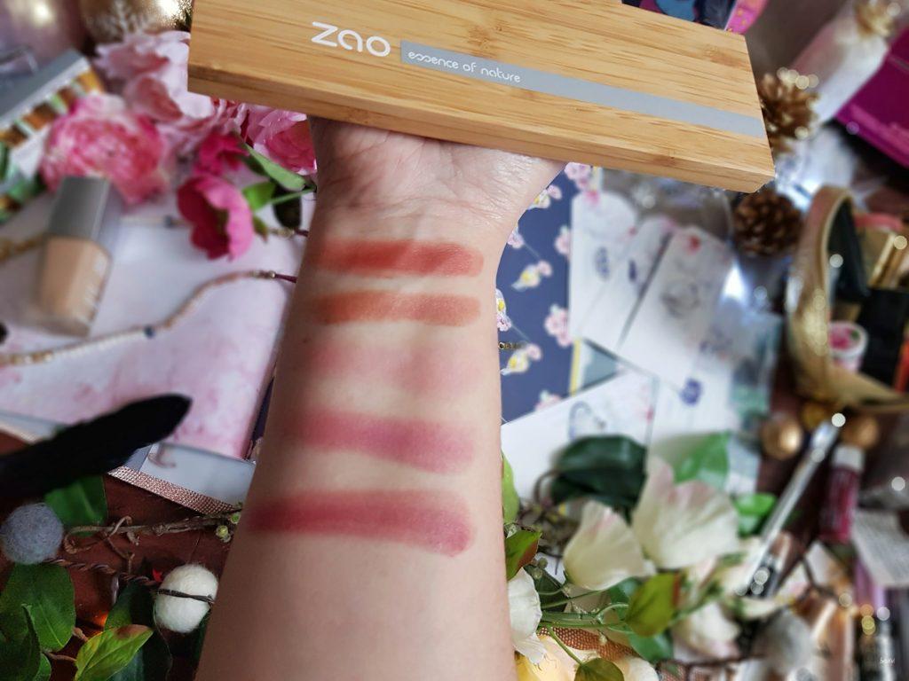 palette de rouge à lèvres