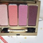 La palette 4 couleurs Clarins Lovely Rose anti coup de blues