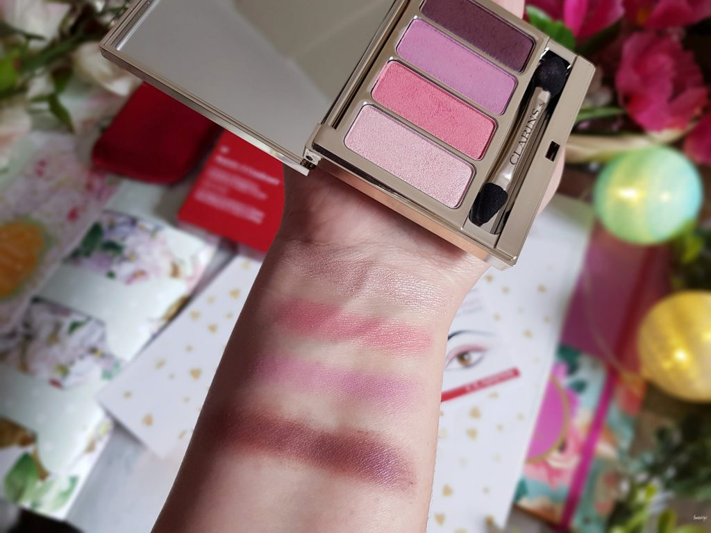 palette 4 couleurs Clarins