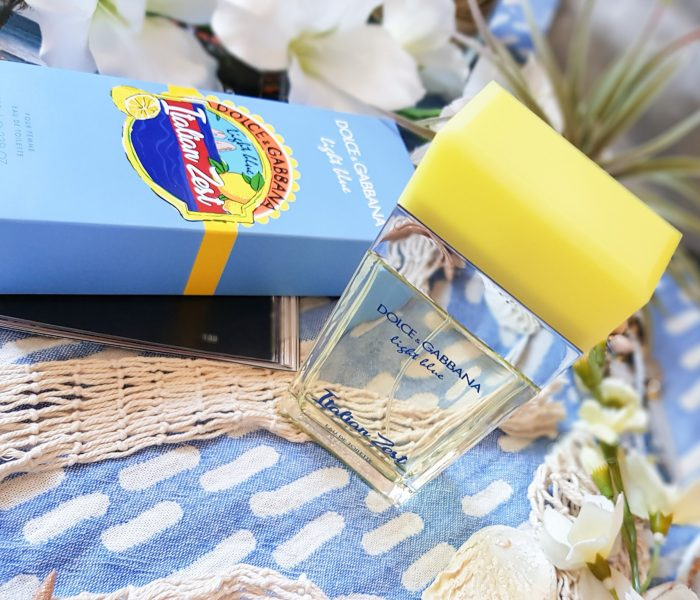 Quand la fraîcheur se mêle au citron, Light Blue Italian Zest Dolce & Gabbana