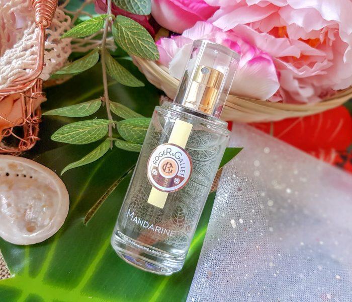 L'Eau Parfumée Bienfaisante Mandarine Roger & Gallet, édition limitée été 2018