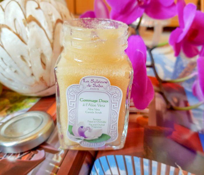 Mon gommage délice La Sultane de Saba senteur figue et orchidée